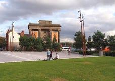 Vroeger Curzon Street Station in Birmingham, Engeland stock fotografie