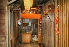 Vroeger edo-Era huis, Tokyo, Japan royalty-vrije stock fotografie