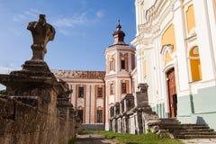 Vroeger Jezuïetklooster en Seminarie, Kremenets, de Oekraïne Royalty-vrije Stock Fotografie