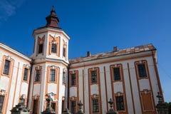 Vroeger Jezuïetklooster en Seminarie, Kremenets, de Oekraïne Stock Foto