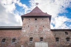Vroeger klooster in Lviv stock fotografie