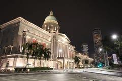 Vroeger Opperst hof Singapore royalty-vrije stock foto's