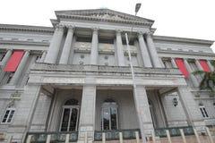 Vroeger Opperst hofnational gallery die Singapore bouwen royalty-vrije stock afbeelding