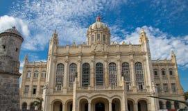 Vroeger Presidentieel Paleis in Havana, Cuba royalty-vrije stock fotografie