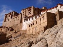 Vroeger Royal Palace van de Namgyal-dynastie in Leh, Ladakh-gebied, India Royalty-vrije Stock Afbeelding