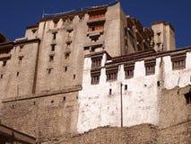 Vroeger Royal Palace van de Namgyal-dynastie in Leh, Ladakh-gebied, India Royalty-vrije Stock Foto