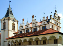 Vroeger stadhuis, Vierkant van HoofdPaul Royalty-vrije Stock Afbeeldingen