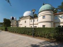 Vroeger waarnemingscentrum op Petrin-Heuvel in Praag royalty-vrije stock foto's