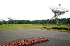 vroegere appelplaats 102 000 geplaatste stenen het symboliseren van 102 000 nooit teruggekeerde gevangenen Stock Fotografie
