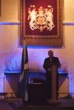 Vroegere Eerste Minister van Schotland Alex Salmond stock foto