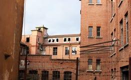 Vroegere leder-fabriek-ii-Schorndorf Royalty-vrije Stock Afbeelding