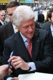 Vroegere President Bill Clinton Royalty-vrije Stock Foto's