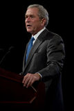 Vroegere President George W. Bush Royalty-vrije Stock Afbeeldingen