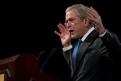 Vroegere President George W. Bush Stock Afbeeldingen