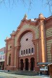 Vroegere synagoge in Uzhgorod, de Oekraïne royalty-vrije stock foto's