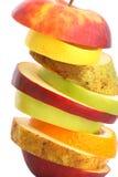 Vrolijk fruit, gemengde vruchten Royalty-vrije Stock Afbeelding