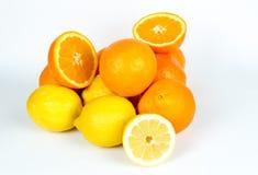 Vrolijk fruit, gemengde vruchten Stock Afbeelding