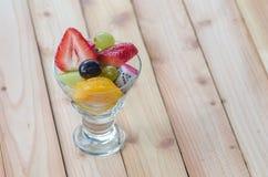 Vrolijk fruit, gemengde vruchten Royalty-vrije Stock Fotografie