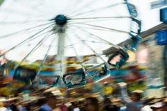 Vrolijk-gaan-rond op het meest octoberfest royalty-vrije stock fotografie