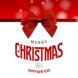 Vrolijk Kerstmis creatief ontwerp met witte vector als achtergrond vector illustratie