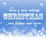 Vrolijk Kerstmis gouden schitterend het van letters voorzien ontwerp royalty-vrije illustratie
