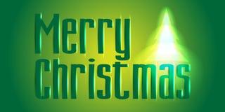 Vrolijk Kerstmisconcept als achtergrond Kan worden gebruikt om affiches te ontwerpen Royalty-vrije Stock Afbeelding