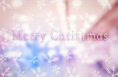 Vrolijk Kerstmisconcept: Kerstmis 2019 stock fotografie