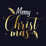 Vrolijk Kerstmisfestival vector illustratie