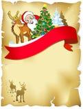 Vrolijk Kerstmisframe royalty-vrije illustratie
