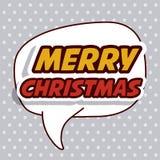 Vrolijk Kerstmisontwerp vector illustratie