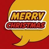 Vrolijk Kerstmisontwerp stock illustratie