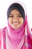 Vrolijk moslimmeisje royalty-vrije stock foto