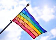 Vrolijk Pride Flag Royalty-vrije Stock Fotografie