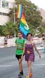 Vrolijk Pride Parade In Jurusalem 2014 Stock Afbeeldingen