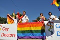 Vrolijk Pride Parade 2013 in Stockholm royalty-vrije stock afbeeldingen