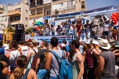 Vrolijk Pride Parade Tel-Aviv 2013 Royalty-vrije Stock Foto
