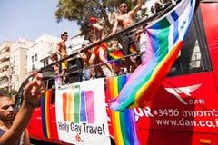 Vrolijk Pride Parade Tel-Aviv 2013 Stock Foto's