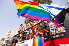 Vrolijk Pride Parade Tel-Aviv 2013 Royalty-vrije Stock Afbeelding