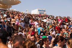 Vrolijk Pride Parade Tel-Aviv 2013 Stock Afbeelding