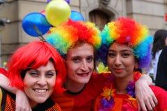 Vrolijk Pride Rally op 23 Mei 2015 Stock Foto