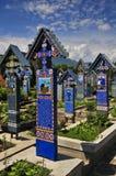 Vrolijke begraafplaats Stock Foto