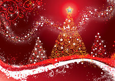 Vrolijke Christmas_FIN Royalty-vrije Stock Afbeeldingen