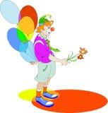 Clown stock illustratie