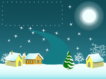 Vrolijke cristmas! Royalty-vrije Stock Foto
