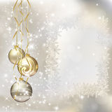 Vrolijke de groetkaart van Kerstmis Royalty-vrije Stock Afbeelding
