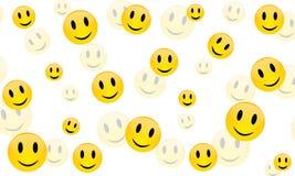 Vrolijke glimlach, vector Royalty-vrije Stock Afbeeldingen