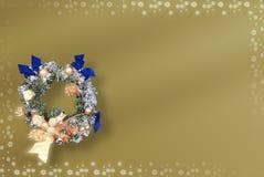 Vrolijke Kerstkaart vector illustratie
