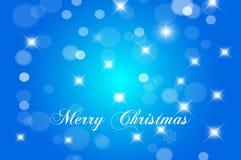 Vrolijke Kerstkaart en Gelukkige Nieuwjaarskaart Stock Afbeelding