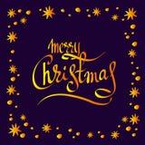 Vrolijke Kerstmis-07 Royalty-vrije Stock Foto