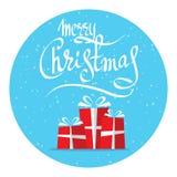 Vrolijke Kerstmis-16 Royalty-vrije Stock Fotografie